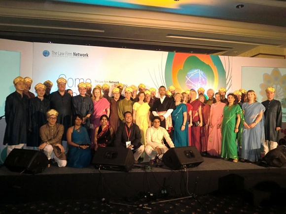 The Annual conference held by The Law Firm Network in Bangalore (India)